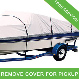 Take off Boat Cover