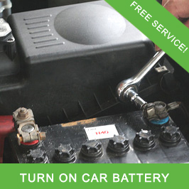 Turn On Car Battery