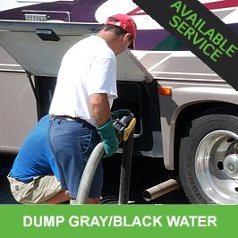 Dump Gray Water