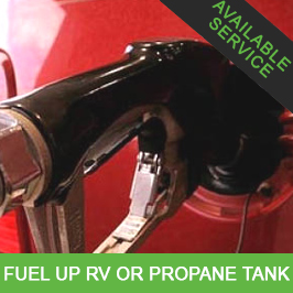 Fill RV With Gas or Propane