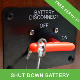 Shut Down Batteries