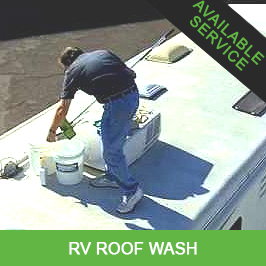RV Roof Wash