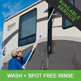 RV Wash + Spot Free Rinse